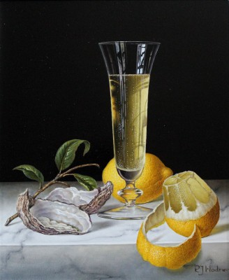 Roy HODRIEN - Champagne with Oysters and Lemons
