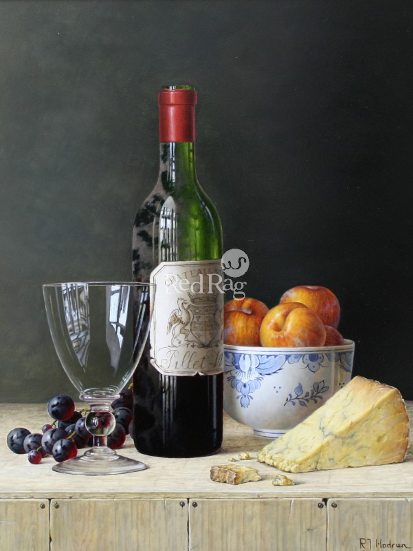 Roy HODRIEN - Margaux with Yellow Plums and Cheese