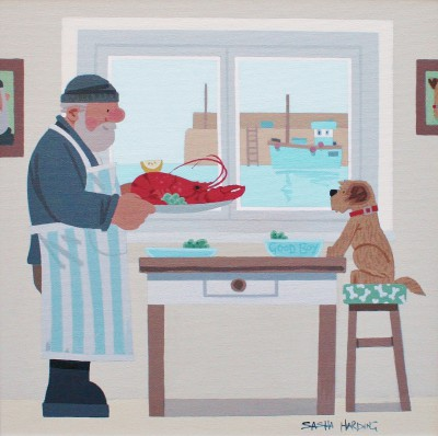 Sasha HARDING - Lobster Supper