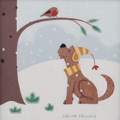 Sasha HARDING, contemporary artist - <span style='color:red;font-size: 200%'>•</span> First Snow