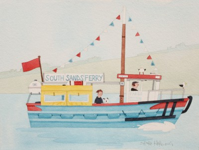 'South Sands Ferry' painting