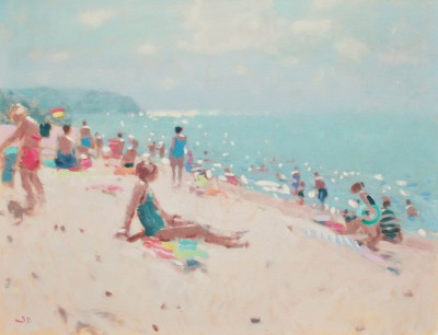 Modern Artist Stephen BROWN RBA - Bathers