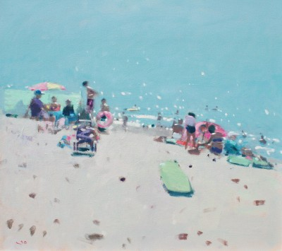 Modern Artist Stephen BROWN RBA - Sidmouth Beach