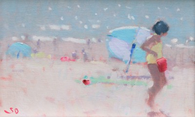 Modern Artist Stephen BROWN RBA - July Afternoon Sidmouth