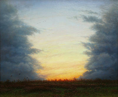 Revealing the Light painting by artist Steven OUTRAM