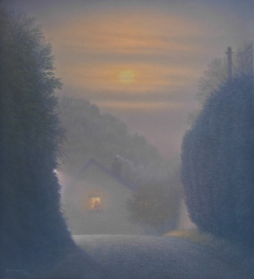 Modern Artist Steven OUTRAM - The Silence of the Moon