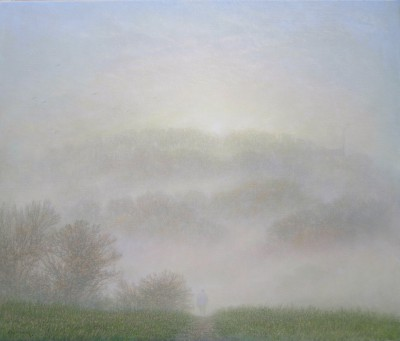 Modern Artist Steven OUTRAM - There is a Way