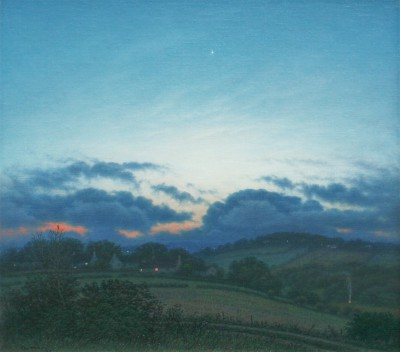 Steven OUTRAM, contemporary artist - The Shortest Night