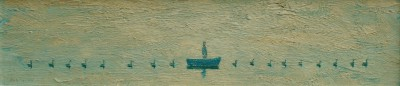 Flotilla painting by artist Stuart BUCHANAN