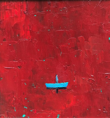 Modern Artist Stuart BUCHANAN - Red Sea Blues
