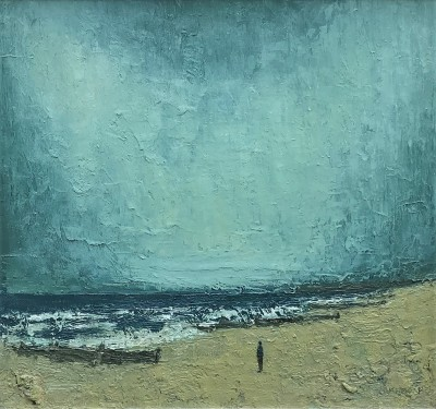 Modern Artist Stuart BUCHANAN - Winter Shore