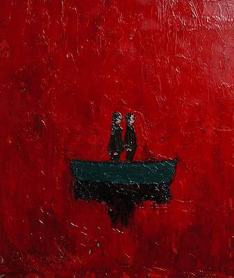Modern Artist Stuart BUCHANAN - The Red Sea
