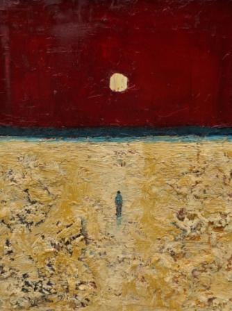 Modern Artist Stuart BUCHANAN - Under The Moon