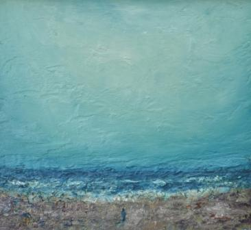 Modern Artist Stuart BUCHANAN - By The North Sea