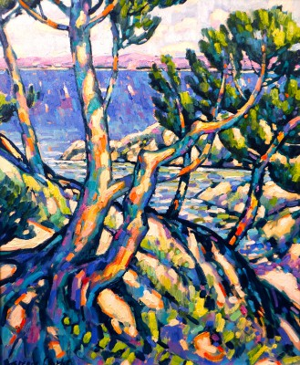 Terence CLARKE - Island Pines, Cote D'Azur