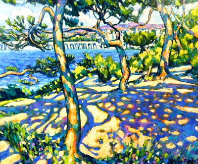 Terence CLARKE - Afternoon Light Cap Ferrat