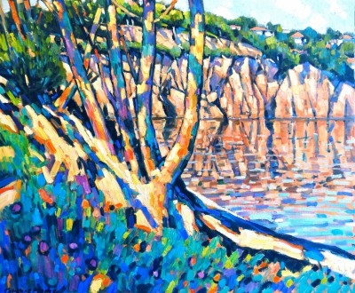 Terence CLARKE - Little Bay near Agay