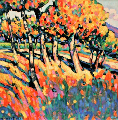 Modern Artist Terence CLARKE - Autumn Light