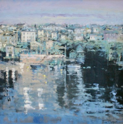 Tina MORGAN - A View of Fowey from the River