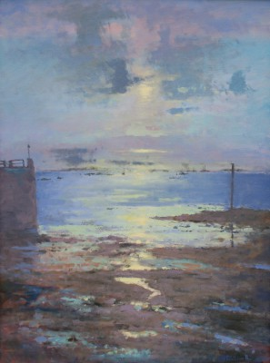 Modern Artist Tina MORGAN - View from Herm