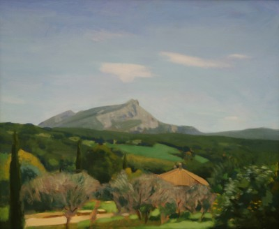 Modern Artist Tom GREENWOOD - The View from Painters Park