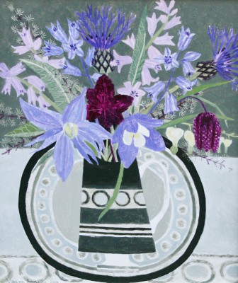 Vanessa BOWMAN - Bluebells and Blue Spring Flowers