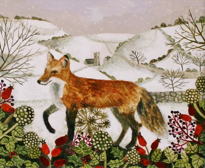 Vanessa BOWMAN - Fox in the Snow