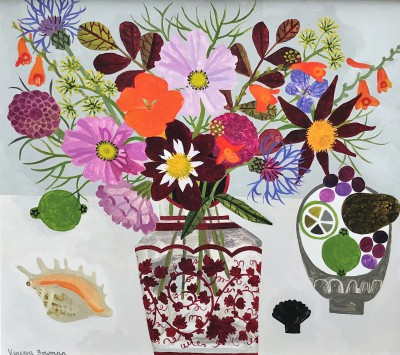 Vanessa BOWMAN - Late Summer Flowers and Shell